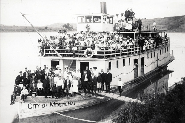 The SS City of Medicine Hat is seen in this undated photo. (Tourism Saskatchewan)