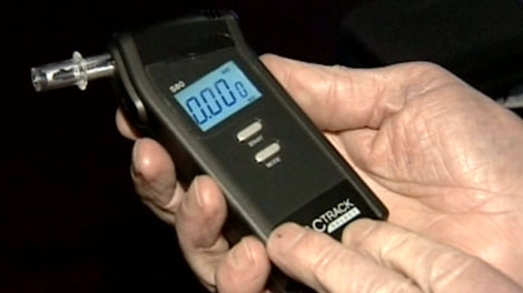 Bar breathalyzers