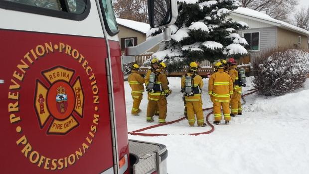 Regina house fire
