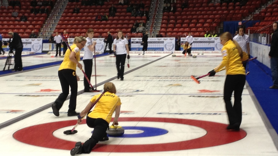 The Capital One Canada Cup of Curling kicked off Wednesday in Moose Jaw.