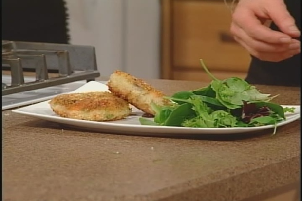 Karla's Steelhead Fish Cakes with  Fennel Sauce