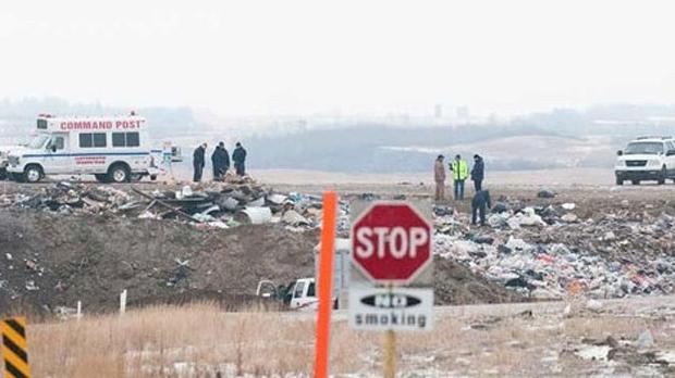 Lloydminster landfill