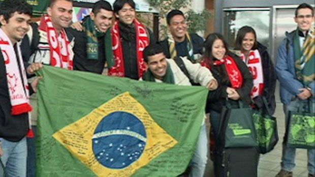 These Brazilian Students will be studying at the University of Regina