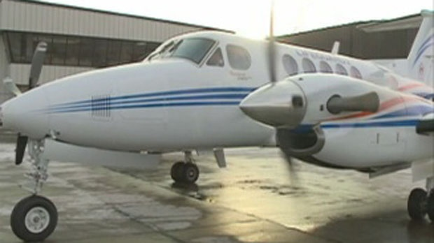 The Saskatchewan air ambulance that slid off the runway in Maple Creek in 2011 has been repaired.