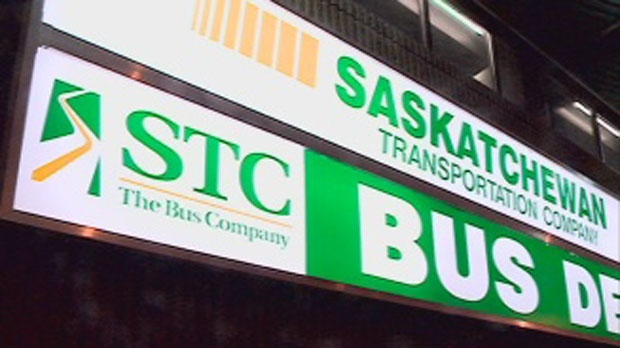 A robbery took place on Saturday night in a Saskatoon STC bus depot.