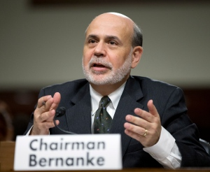 Federal Reserve Chairman Ben Bernanke testifies on Capitol Hill in Washington, Wednesday, May 22, 2013. (AP / Manuel Balce Ceneta)