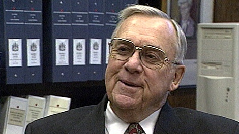Allan Blakeney, during an interview with CTV Saskatoon in 2000.