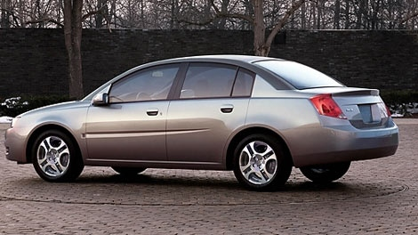 Winnipeg police said Rydman was driving a Saturn, similar to the one shown in the image above.
