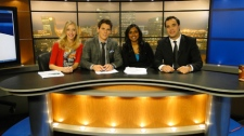 The CTV Morning Live team - Lindsay Dunn, Jonathan Glasgow, Shallima Maharaj and Carey Smith - is seen in this undated photo.