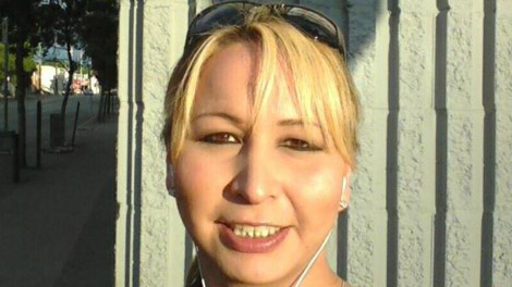 Brandy Rene Wesaquate is seen in this photo provided by Regina police.