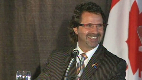 Regina Mayor Pat Fiacco delivers his final the State of the City Address on Thursday.