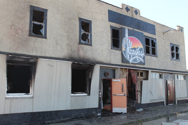 Fire guts Tequilas Hotel in Elfros, Sask. - CTV News