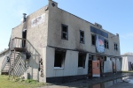 Tequilas Hotel in Elfros, Sask. was destroyed by an early morning fire Thursday, Oct. 9, 2014