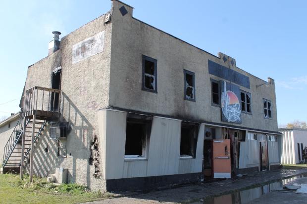 Elfros hotel lost to fire - CTV News