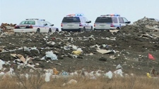 Police are investigating a death at the Regina landfill on Thursday.