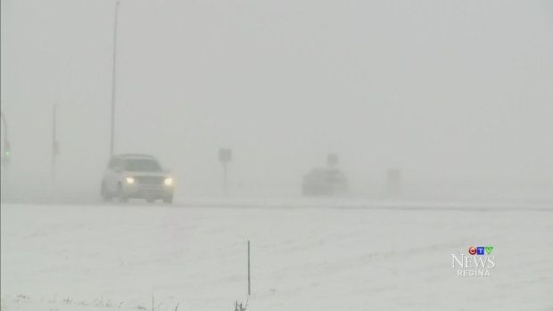 CTV Regina: Snow arrives in Saskatchewan