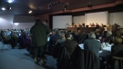 Over 100 people attended the Sherwood ratepayers meeting.  People voiced their opposition to the Regina bypass.