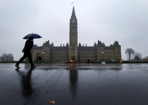 Parliament Hill is seen in Ottawa on Oct. 31, 2013. (Sean Kilpatrick / THE CANADIAN PRESS)