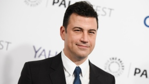 Jimmy Kimmel is seen in Los Angeles, on March 8, 2015. (Photo by Richard Shotwell/Invision/AP, File)