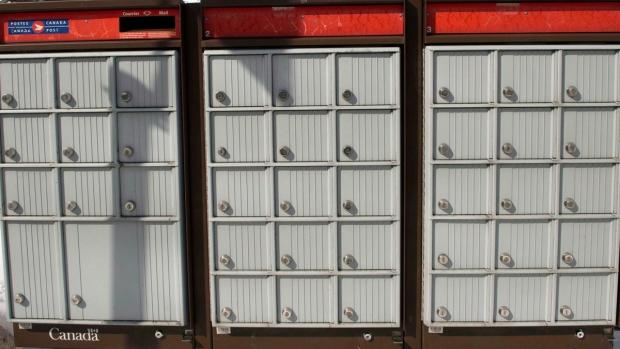 Canada Post super boxes.