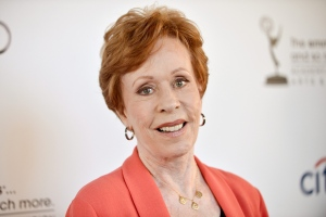 Actress and comedian Carol Burnett arrives at the Academy of Television Arts and Sciences' An Evening with Carol Burnett at the Leonard H. Goldenson Theatre in Los Angeles on July 22, 2013. (Invision / Richard Shotwell)