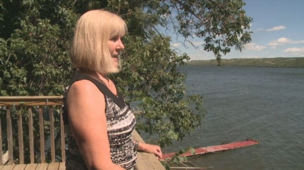 Pat Lee, who lives along Pasqua Lake, is upset over a recent decision by the City of Regina to release raw sewage into Wascana Creek.