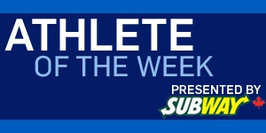 Athlete of the Week, sponsored by Subway