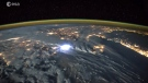 Extended: Timelapse of lightning seen from space
