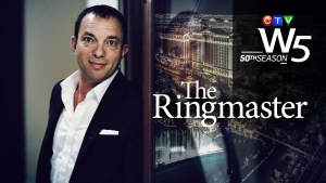 W5's Sandie Rinaldo profiles Mitch Garber - a Canadian who rose from humble beginnings and became one of the most influential powerbrokers in Las Vegas, heading up a $2.5-billion empire.