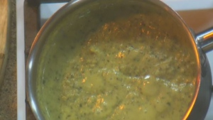 Wheatland Cafe: Broccoli kale lentil soup
