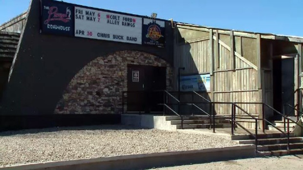 Two men were taken to hospital after a shooting at the Pump Roadhouse in Regina on Friday, April 29, 2016.