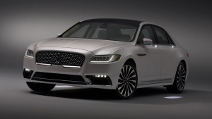 Lincoln Approach Detection lighting on all-new 2017 Lincoln Continental. (Photo from The Ford Motor Company)