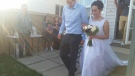 Fort Mac couple ties the knot