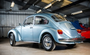 Mint 1974 Volkswagen Beetle for sale with just 90 km on odometer (Photo: Silverstone Auctions)