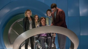 Jennifer Lawrence, Rose Byrne, James McAvoy, Lucas Till and Nicholas Hoult in 'X-Men: Apocalypse.' (Alan Markfield / TM)