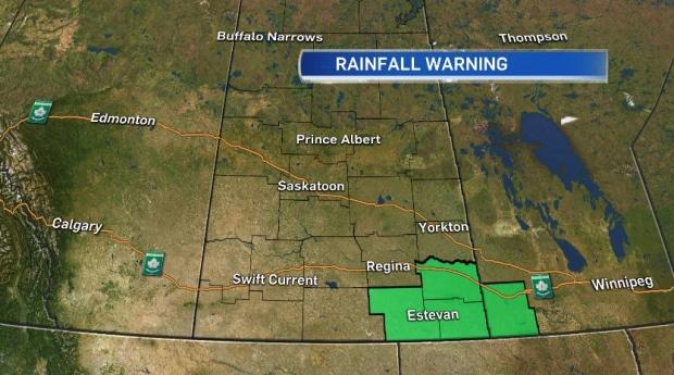 May 31 rainfall warning