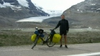 Man cycling across Canada stops in Regina