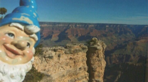 Kidnapped by a family who dubbed him 'Leopold,' a Victoria woman's lawn gnome was taken on an epic vacation to places like the Grand Canyon before being brought home. July 27, 2016. (CTV Vancouver Island)