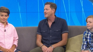 Jason Pearson and his sons, Sully and Max, talk to CTV's Your Morning about their year-long trip honouring their late mom Jane.