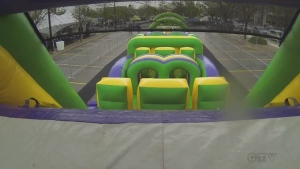 Inflatable Race