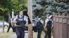 Surrey neighbourhood under lockdown