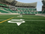 Media in Regina were given a tour Wednesday, Aug. 31, 2016 of the city's new Mosaic Stadium, which is set to host its first game Oct. 1. (Jamie Fischer/CTV Regina)
