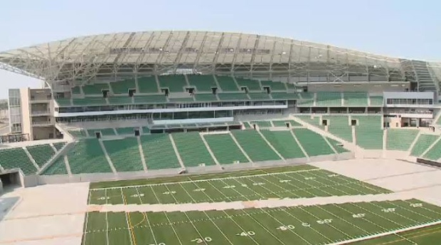 New Mosaic Stadium in Regina
