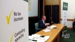 Province skips first-quarter financial update