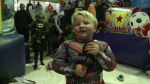 Boy battling brain cancer celebrates birthday