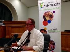 Saskatchewan children's advocate Bob Pringle