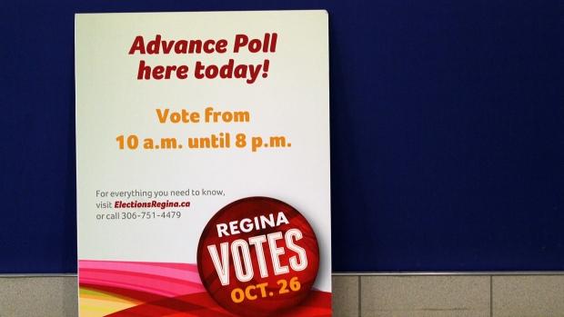 Regina advance polls