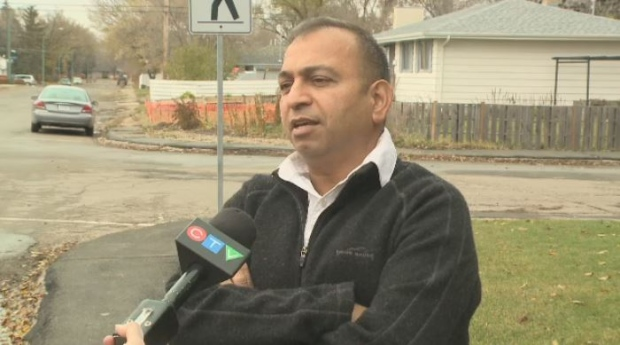 Nishchal Bhagi is running for election to both city council and the public school board in Regina.
