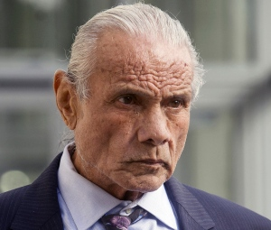 "In this Nov. 2, 2015, photo, former professional wrestler Jimmy ""Superfly"" Snuka leaves Lehigh County Courthouse in Allentown, Pa. (Michael Kubel/The Morning Call via AP, File)"
