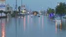 Heavy flooding in Houston, Texas